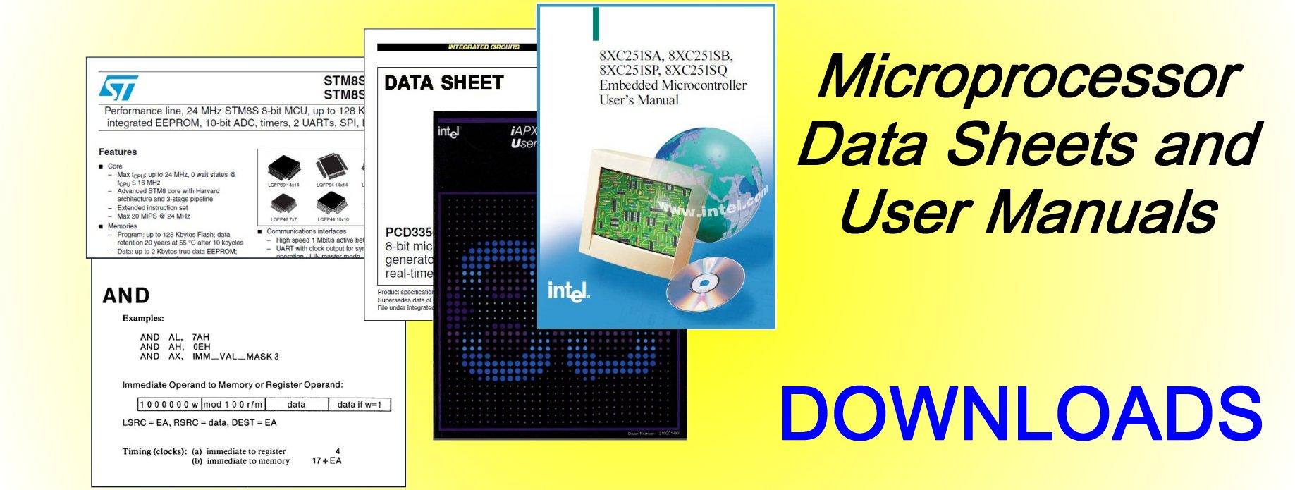 Intel 8051 Datasheet Pdf